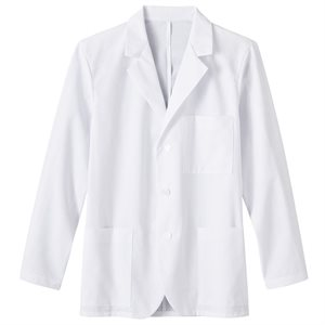 "Men's Fundamentals Lab Coat - 2XL Size (30"" length)"