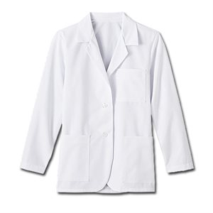 "Women's Fundamentals Lab Coat - 2XL Size (28"" length)"
