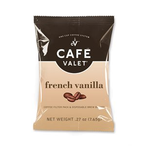 Cafe Valet One Cup Coffee - FRENCH VANILLA