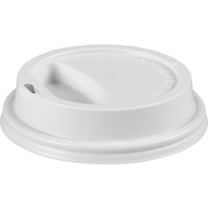 Cafe Valet Lid for 10oz Individually Wrapped Cup (White Color)