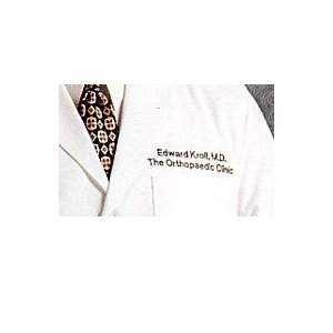 "Women's Lab Coat (37"" length) with Custom Embroidery"
