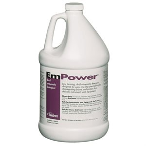 EmPower Dual-Enzymatic Detergent by Metrex (1 Gallon)