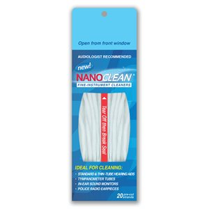 NanoClean Hearing Instrument Cleaners (20 / pk)
