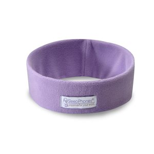Acoustic Sheep SleepPhones Wireless - Extra Large, Lavender