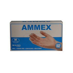 Exam Gloves-Vinyl, powder free (medium)