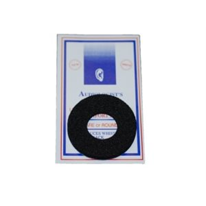 Audiologist's Choice® Phone Pad, round (black)