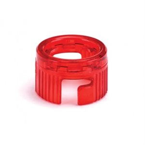 Westone Best Syringe Clear Retainer Ring (translucent red)