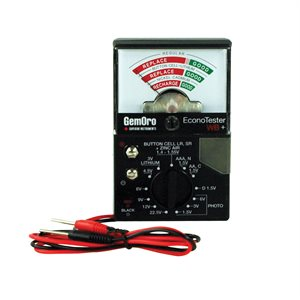 Wide Range Battery Tester