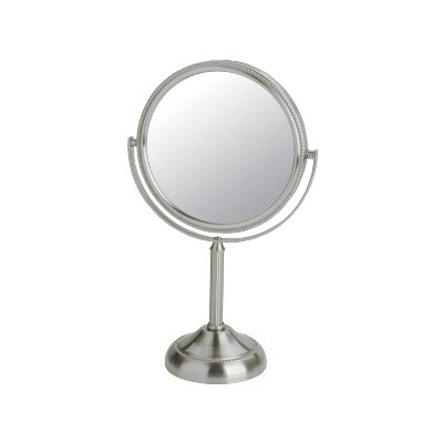 Table Top Two-Sided Pedestal Mirror - 5X Magnification (JP916C)