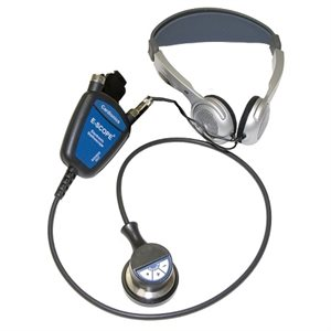 E-Scope II Belt Model with Traditional Headphones (no earpieces)