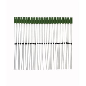 Probe Tubes with Universal Fit, green (36 / pk)