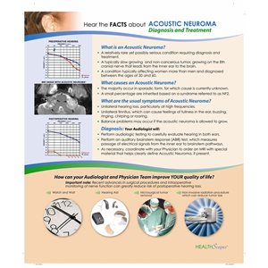HealthScapes Brochure- Acoustic Neuroma (20 / pk)