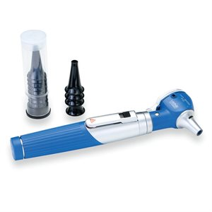 Heine Mini 3000 Fiber Optic Otoscope (blue)