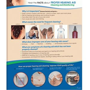HealthScapes Brochure-Hearing Aid Maintenance (20 / pk)