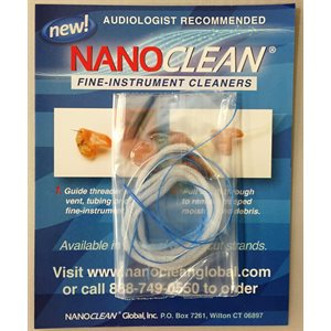NanoClean Hearing Instrument Cleaners Sample Pack (3 / pk)