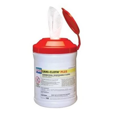 Sani-Cloth PLUS Disinfectant Wipes (160 / canister)