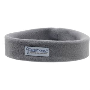 Acoustic Sheep SleepPhones Wireless - Medium, Gray