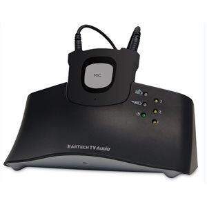 EarTech TV Audio RF Listening System with Neckloop Receiver