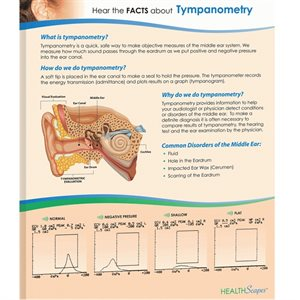 HealthScapes Brochure-Tympanometry (20 / pk)